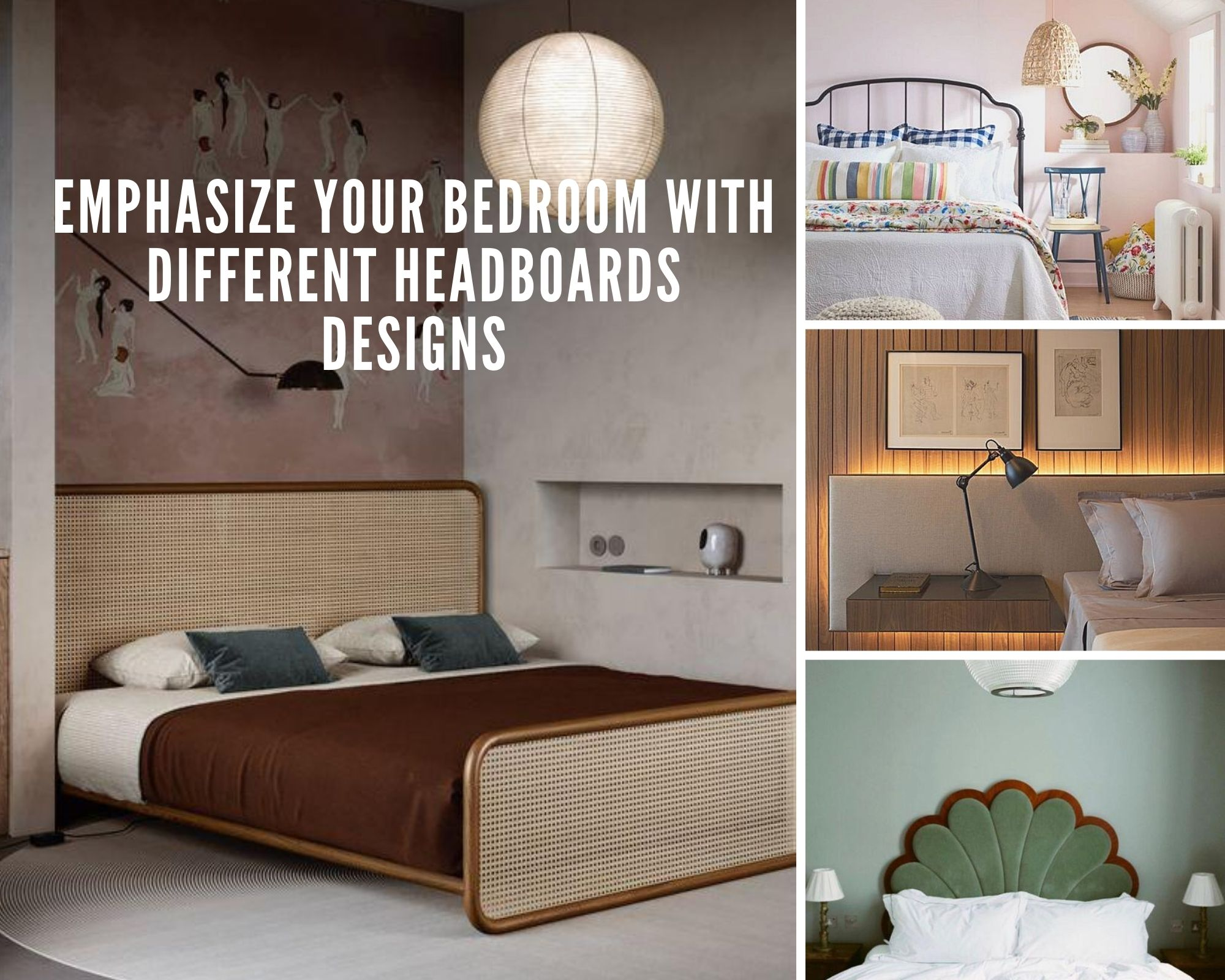 Emphasize Your Bedroom With Different Headboard Designs Design Lifestyle Blog